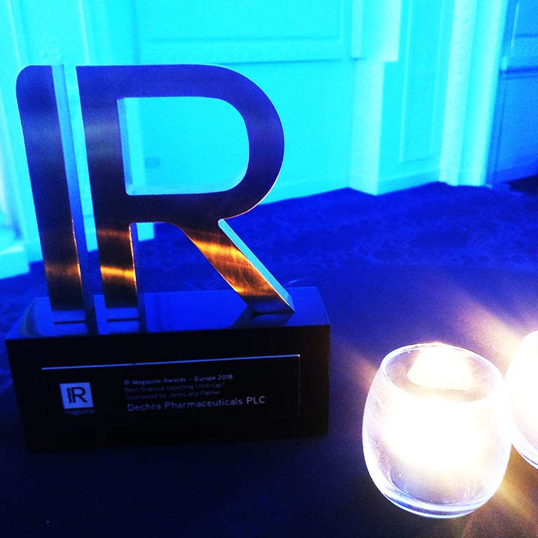 IR Magazine Awards Europe Award