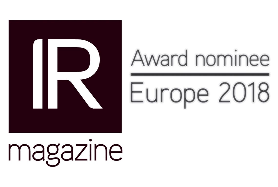 IR Magazine Awards Europe Logo
