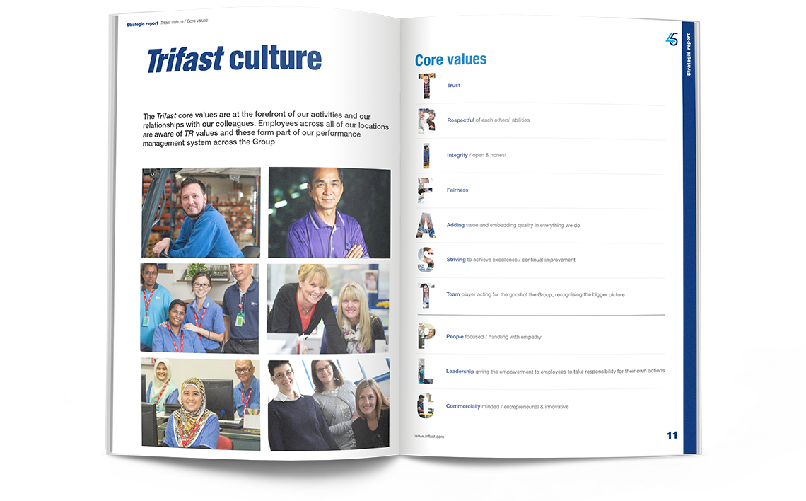 Trifast Annual Report 2018 Trifast Culture